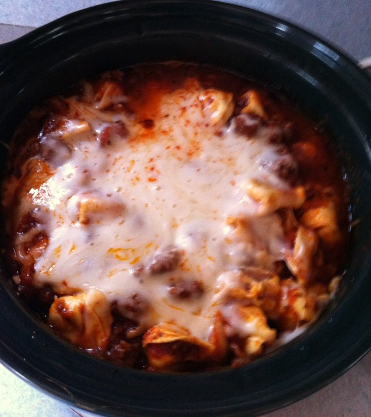 ... McGuire: Food for Thought: Crockpot Love - Cheesy Italian Tortellini