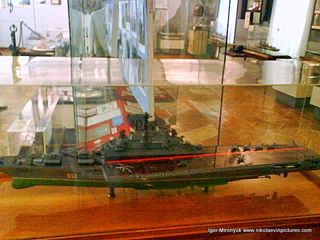 """Первый авианосец """"Киев"""", построенный в декабре 1975 года на Черноморском Кораблестроительном Заводе."""