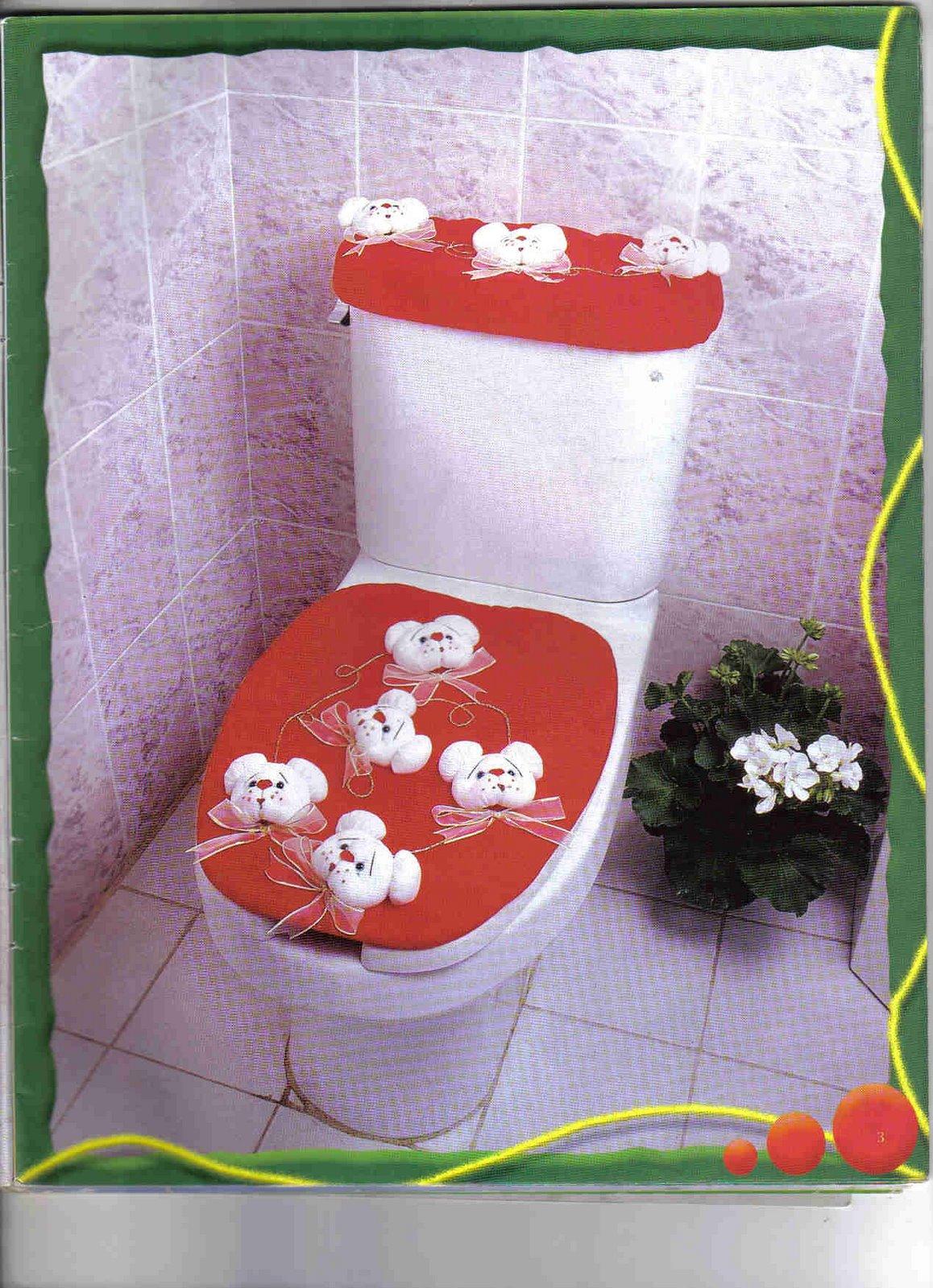 Moldes Para Hacer Lenceria De Baño:Como Hacer Juegos De Bano Para Navidad