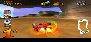 Crash Team Racing Gameplay no PSX 1.13