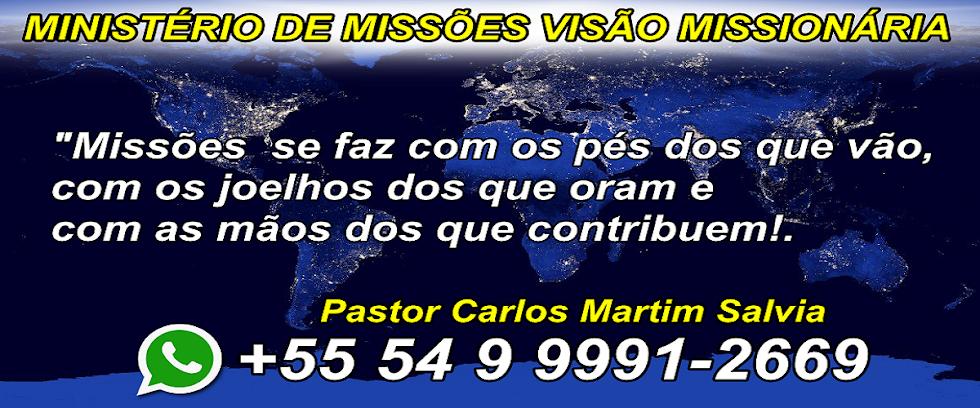 PARCERIA - MINISTÉRIO DE MISSÕES VISÃO MISSIONÁRIA