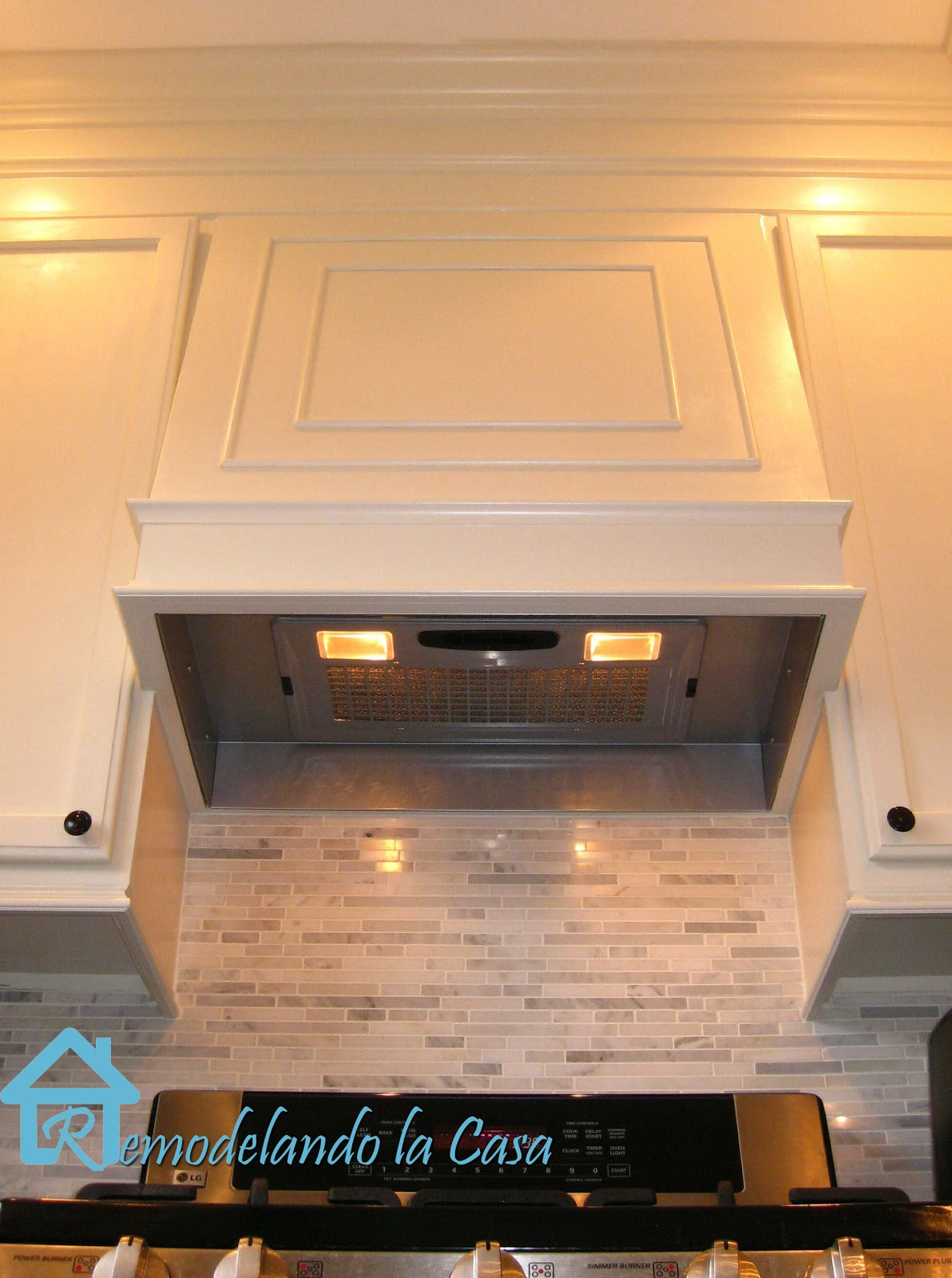 Remodelando La Casa How To Build A Range Hood