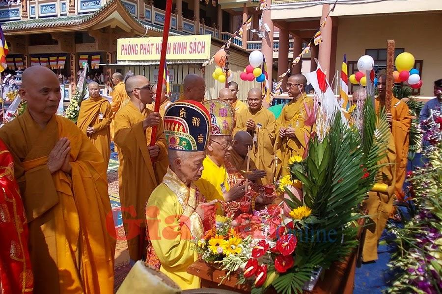 Gia Lai: Long trọng tổ chức Đại lễ Phật đản-Phật lịch 2558
