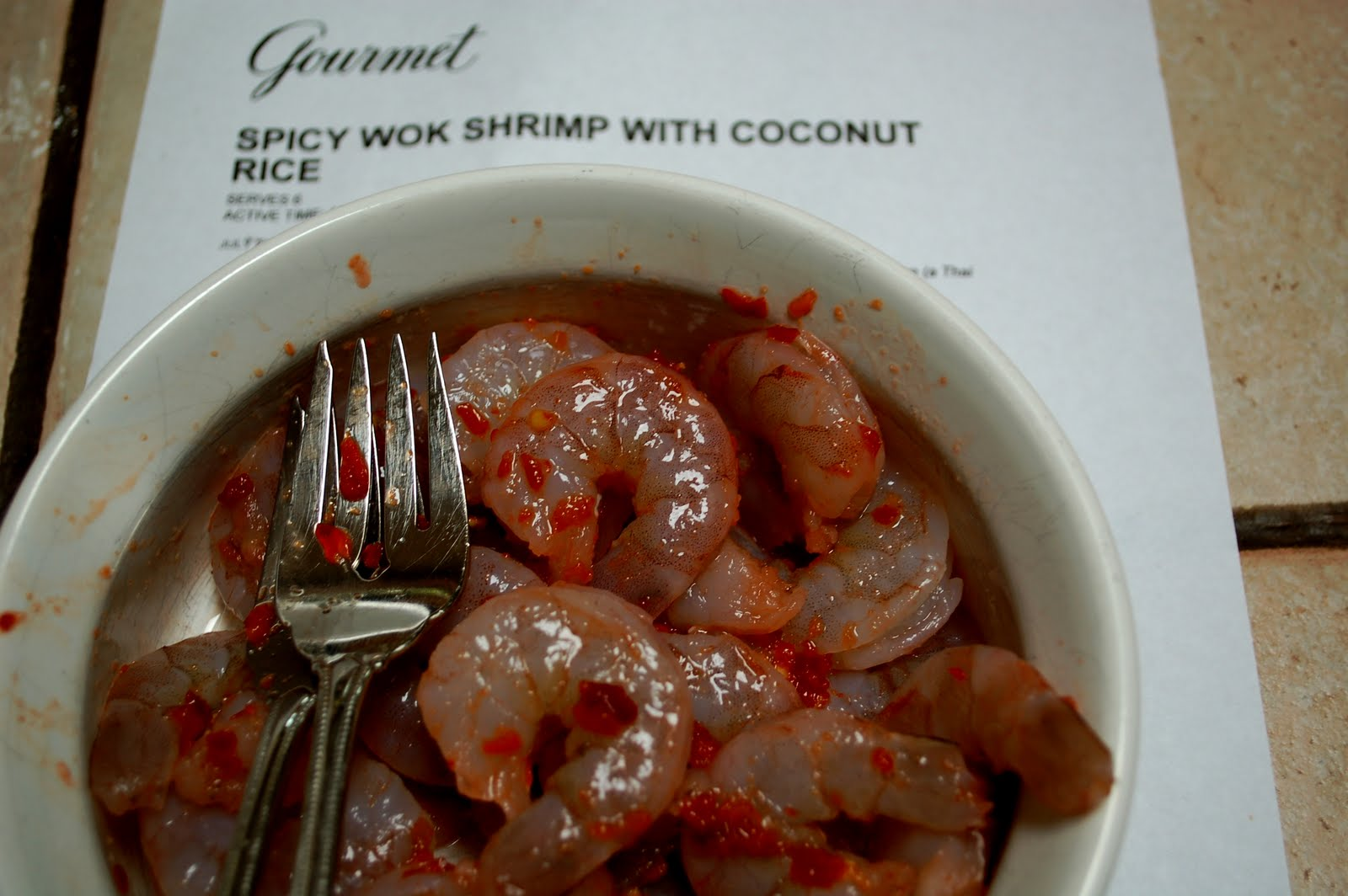 The Spice Garden: Spicy Wok Shrimp with Coconut Rice ...