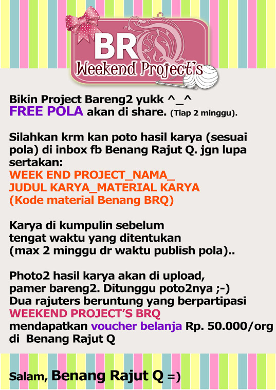 WEEKEND PROJECT - IKUTANNNN YUUUKKK!!!