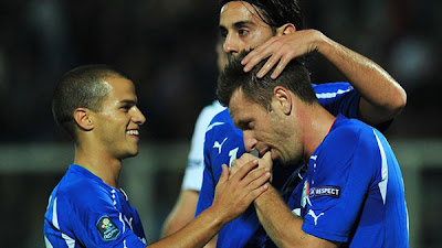 Italy 3 - 0 Northern Ireland