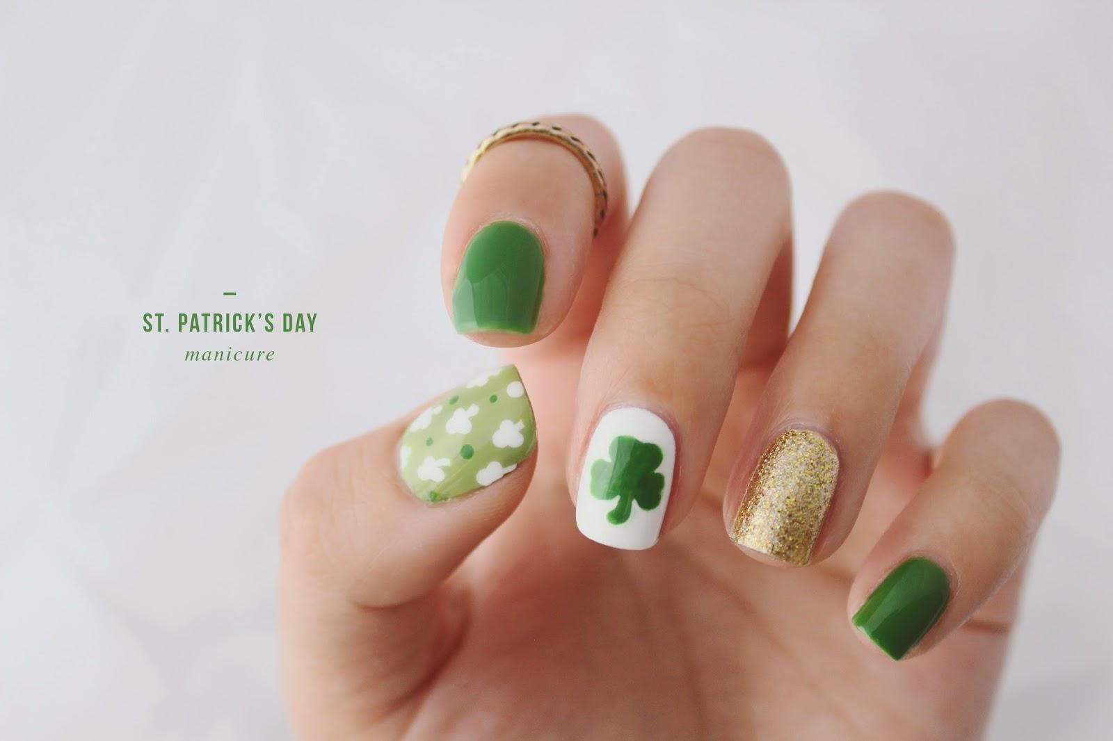 Californails: St. Patrick\'s Day Manicure