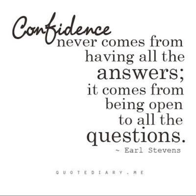 This i believe essay confidence