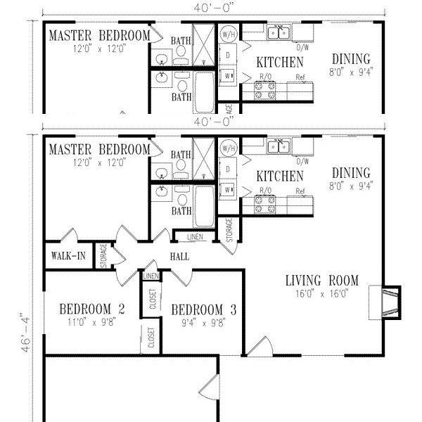 Planos de casas modelos y dise os de casas catalogo de for Planos y disenos de casas