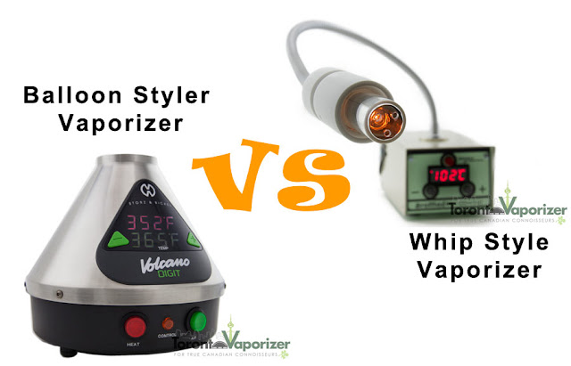 Balloon vs Whip Style Vaporizer