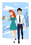 Ariel and Eric Couple Outfits. Suzy (Female mouse form Cinderella) Outfit