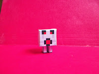 Minecraft Ghast Craft Tutorial. Property of Cassie's Creative Crafts