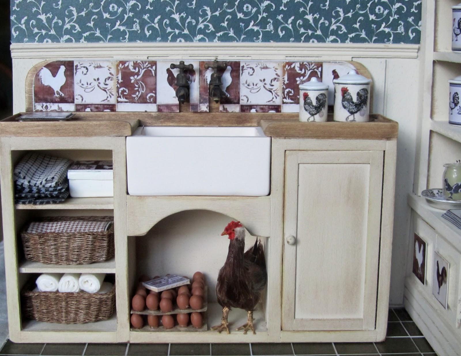 Dollhouse Kitchen Sink Fridays child the rooster roombox is finished fridays child the rooster roombox is finished workwithnaturefo