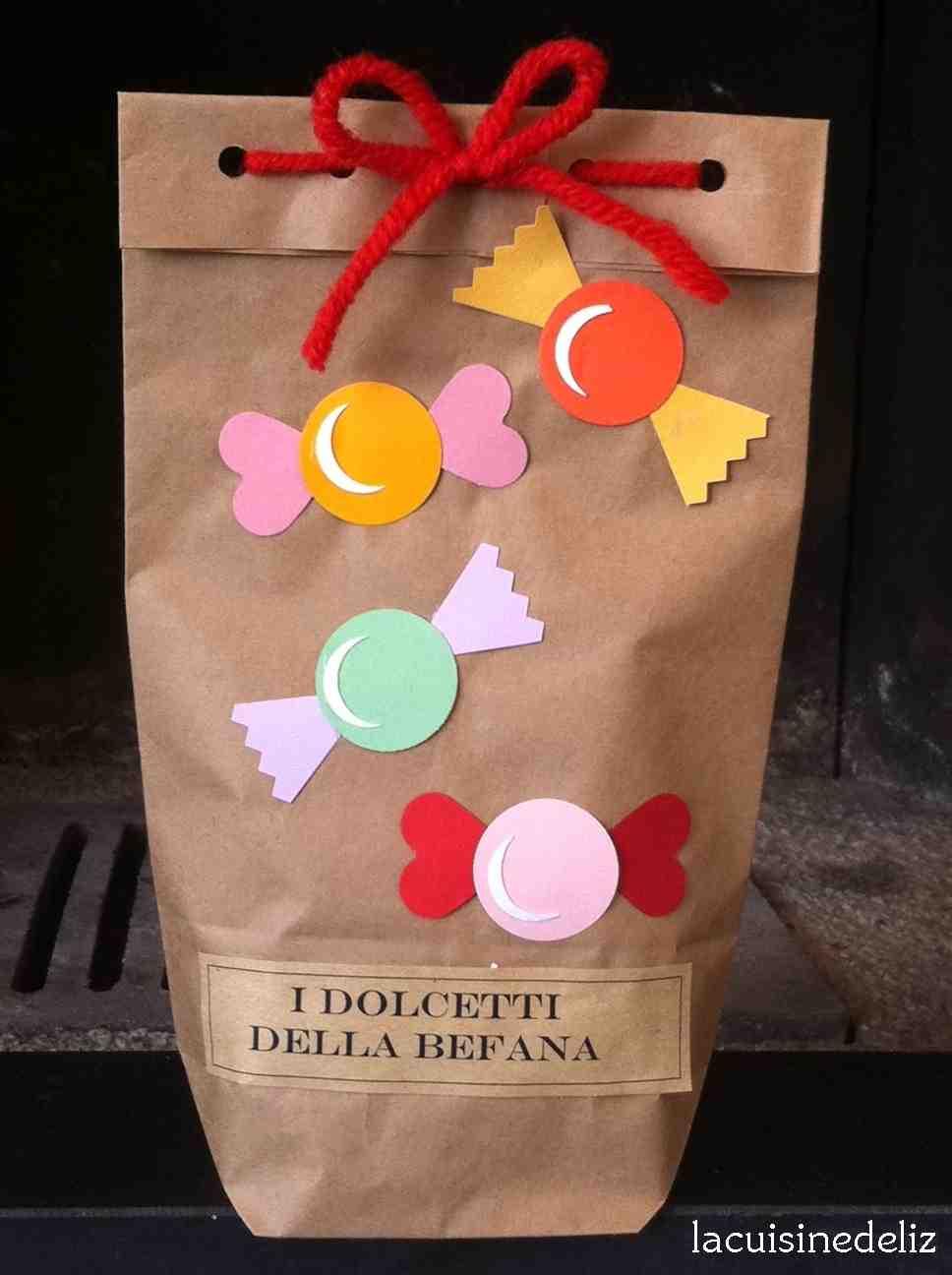 La classe della maestra valentina i dolcetti della befana for La classe della maestra