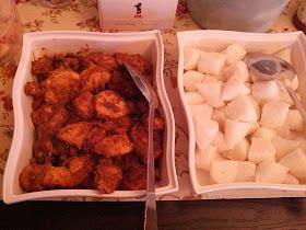 Rendang Ayam + Nasi Impit