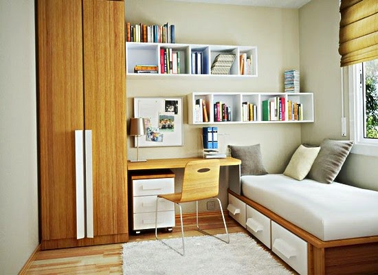 5 tips praktis menata kamar tidur sempit minimalis