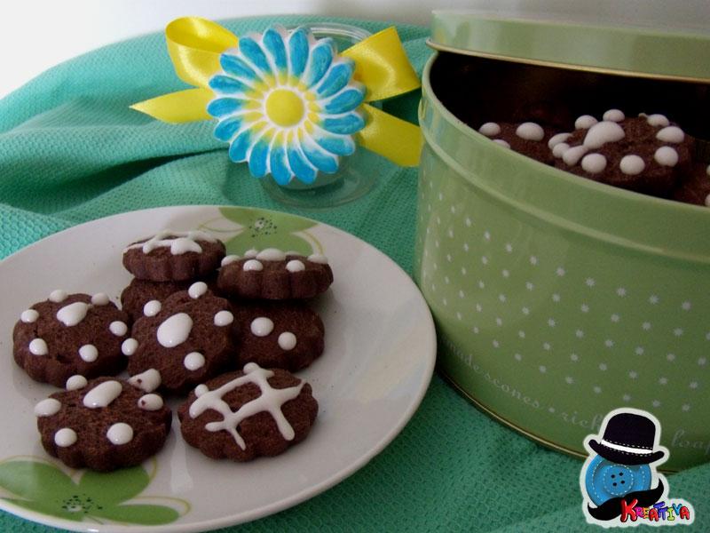 biscotti al cioccolato e zenzero
