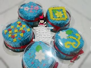 Mini Cake Bunga Untuk Souvenir Acara