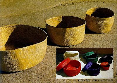 cesto de palha 1-porta revista-bolsa de palha-bolsa de praia-artesanato de palha de piaçava-artesanato da Bahia-trança de piaçava-artesanato indígena-Cesto 1