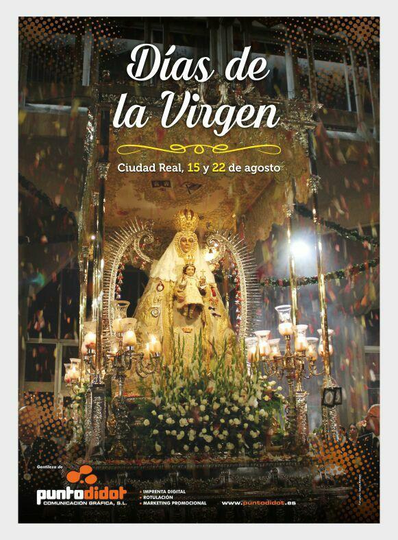 """Cartel de los """"Días de la Virgen"""" 2017"""