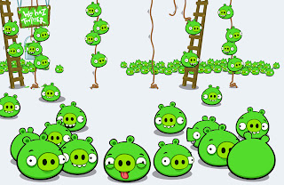 Herd of Bad Piggies Rovio New Game HD Wallpaper
