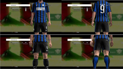 PES 2013 Internazionale 2015-2016 Home Kits by kIkEJG17