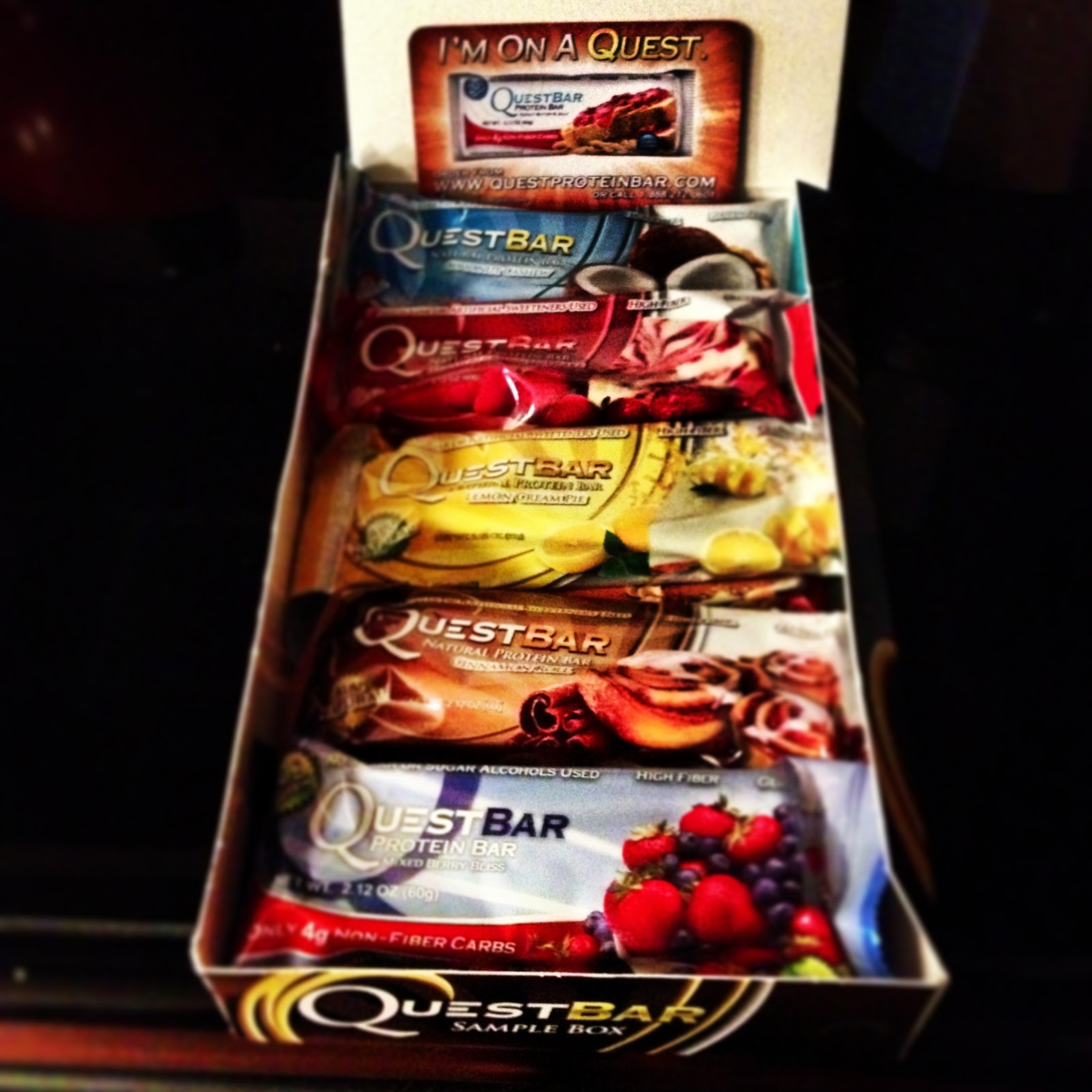 Yum review quest nutrition for Muscle food quest bar