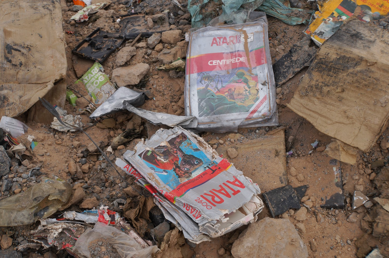 The Aftermath Of The Most Famous Video Game Garbage