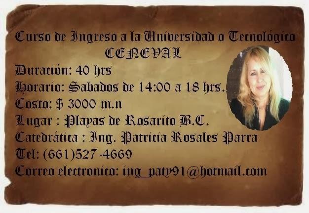 Examen Ceneval Universitario