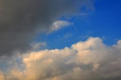 'Verschobene' Wolken...