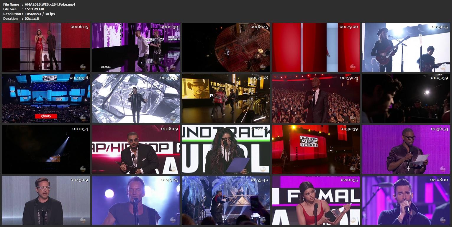 Watch The 44th Annual American Music Awards Online Free 2016 Putlocker