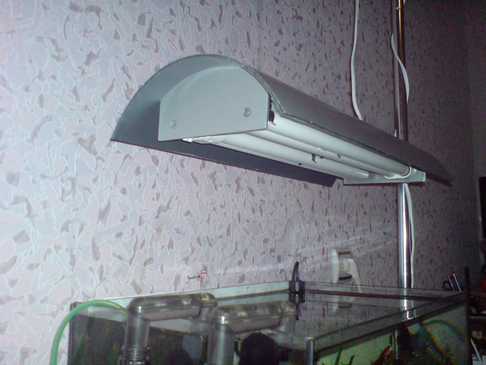 Подвесной светильник для аквариум своими руками