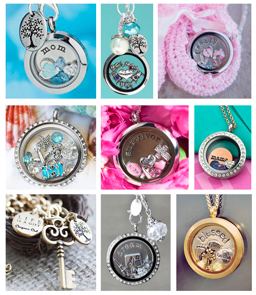 Origami Owl Examples