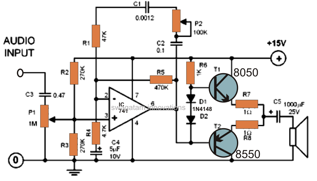 car amplifier schematics wiring diagram schematic