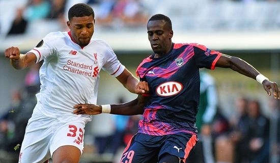 Bordeaux 1 x 1 Liverpool - Europa League 2015/16