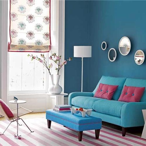 Decoraci n f cil decorar con espejos redondos for Espejos redondos para comedor