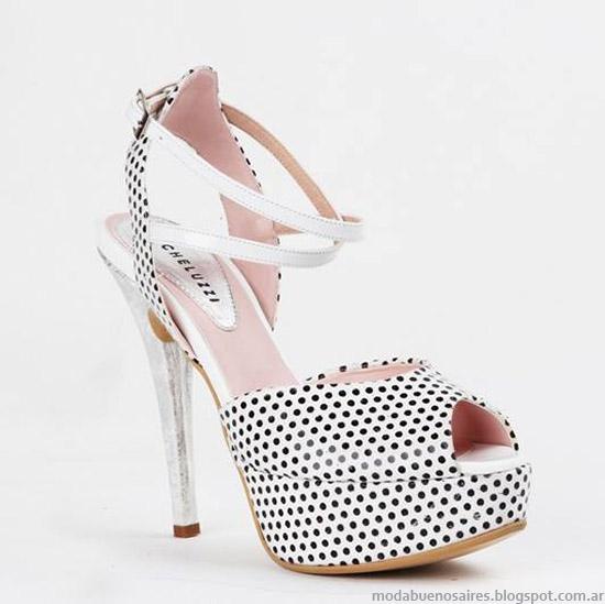 Zapatos y sandalias de fiesta primavera verano 2015 Micheluzzi. Moda argentina en zapatos de diseño.