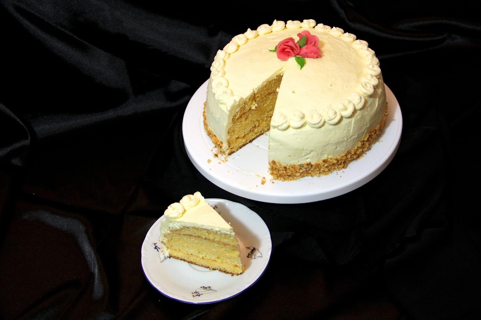Торт Птичье молоко с манкой и лимоном (пошаговый) 84