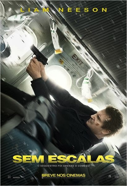 "Poster do filme ""Sem Escalas"""