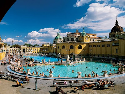 Budapest's famed thermal baths, thermal bath in Budapest, vacation in Budapest, historic city of Budapest