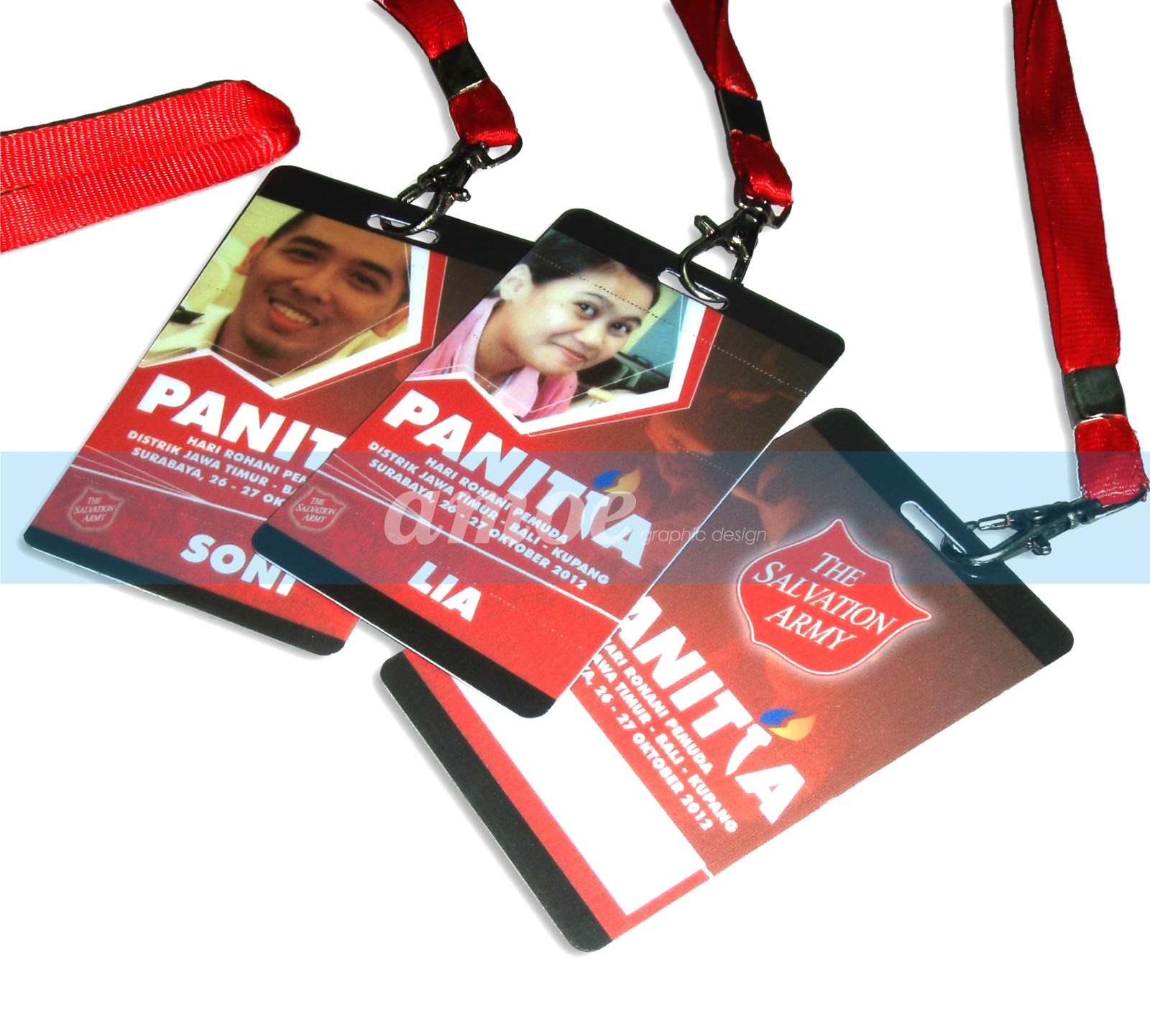 amoe graphic design: name tag event