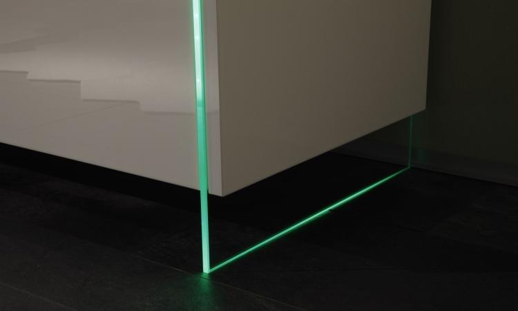 Credenza Moderna In Vetro : Madie moderne: design e vetro arredano il vostro soggiorno blog