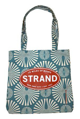 tote bag from Strand bookstore