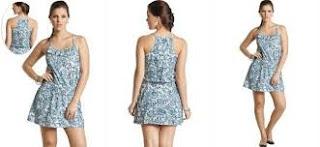 vestido curto estampado para o ano novo - dicas e fotos