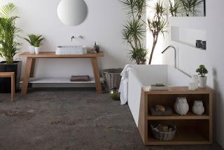 Casa de banho minimalista decorada