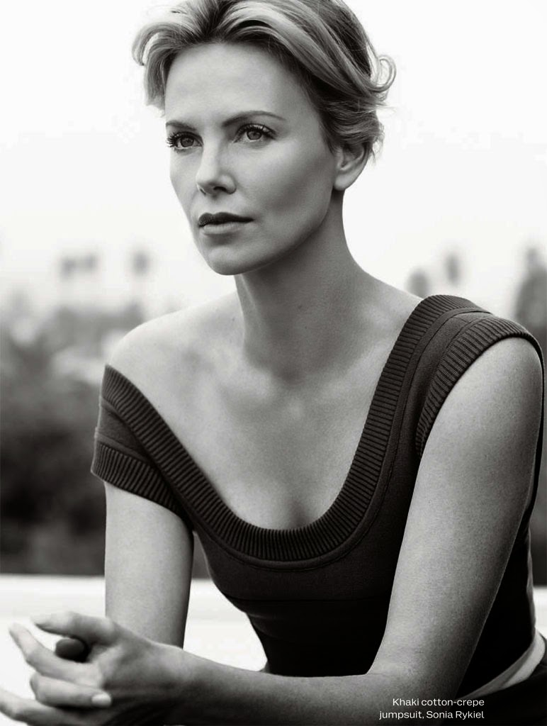 Smartologie: Charlize Theron for ELLE UK June 2015 Charlize Theron