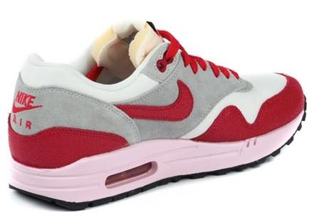 Nike Air Max 1 VNTG WMNS Rot/Pink/Grau