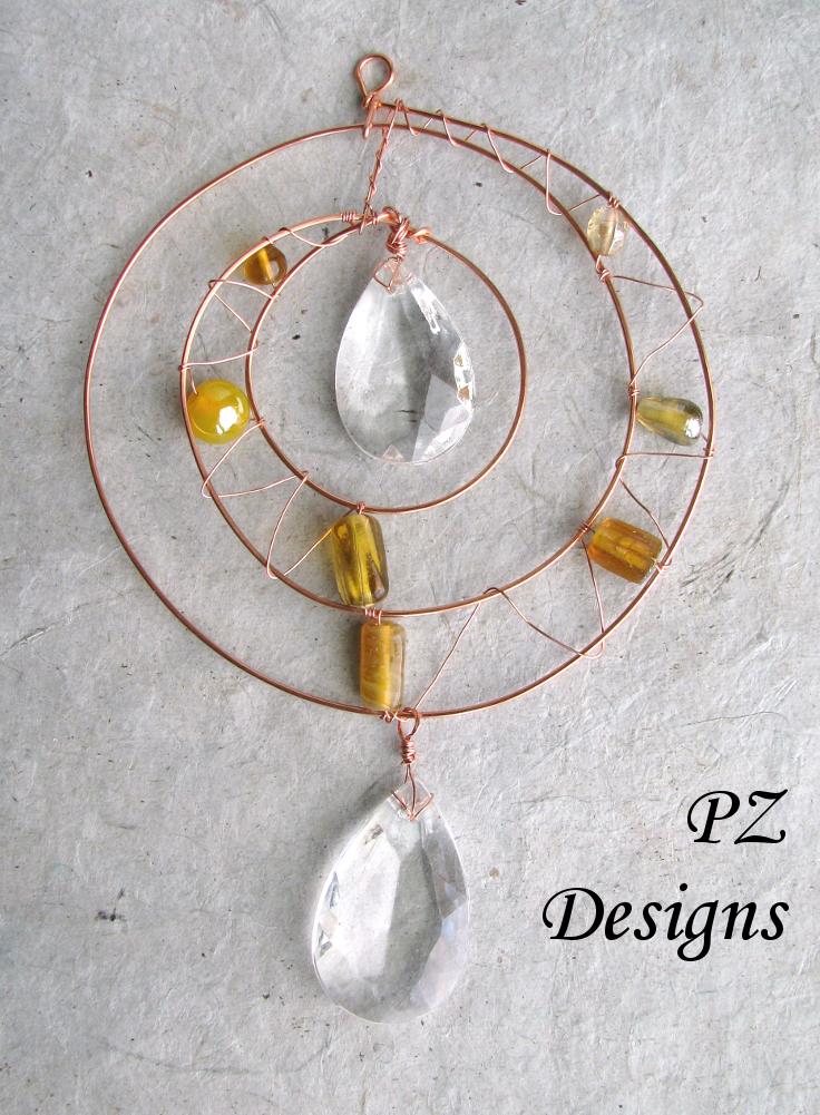 Silver Serpent Studio\'s Blog: Beaded Suncatchers: Beyond the Spiral
