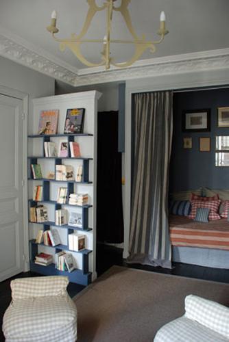 pareti divisorie monolocale : BOISERIE & C.: Miniappartamento monolocale: 24 mq a Parigi