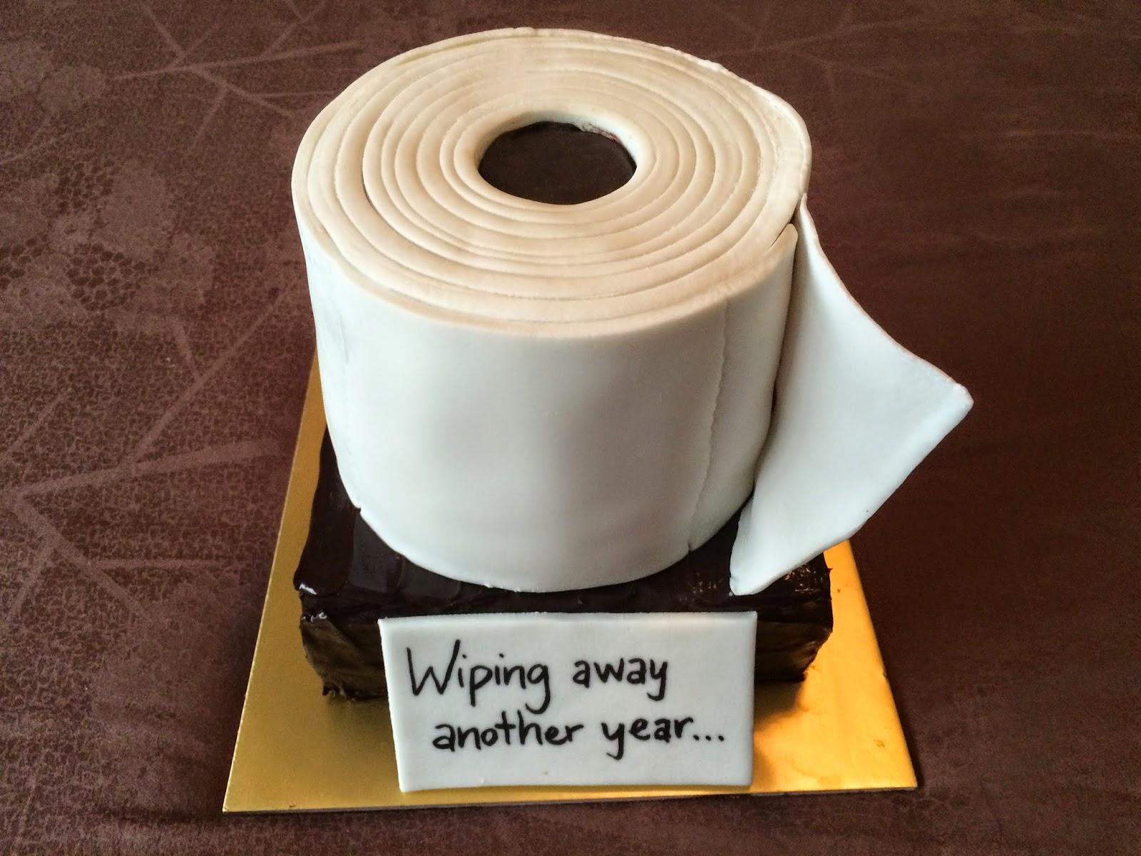Toilet Paper Cake Images : Toilet Paper Roll Cake Crissa s Cake Corner!